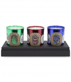 3 CANDLE HOLIDAY COFFRET