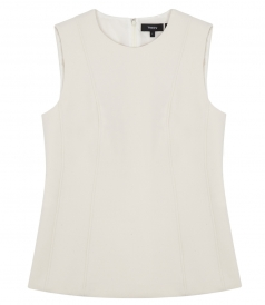 HADRIENNE PIONEER SEAMED SLEEVELESS TOP