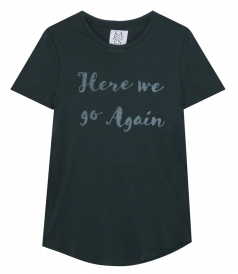 HERE WE GO AGAIN LOOSE FIT TEE