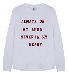 ALWAYS ON MY MIND PULLOVER
