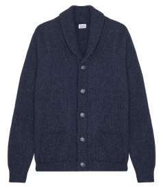 ECO RAGG SHAWL CARDIGAN