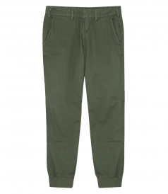 LIGHT TWILL TROUSER RIB CUFF