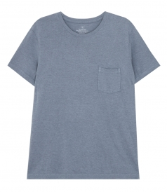 SHORT SLEEVE HEAVY JERSEY POCKET TEE