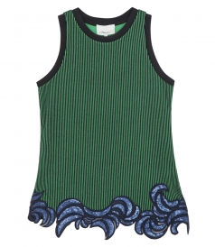 WOMEN EMBROIDERED TANK
