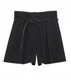 ORIGAMI PLEATED SHORTS