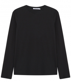 LONG SLEEVE CREWNECK COTTON TOP