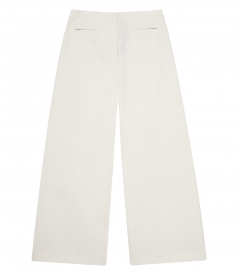 HIGH WAISTED CROPPED STRETCH PANTS