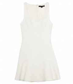 FITTED TANK MINI DRESS
