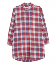 PACIFIC CHECKED OVERESIZED SHIRT
