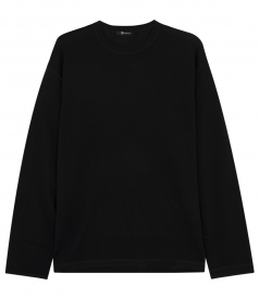 LONG-SLEEVE KNITTED PULLOVER
