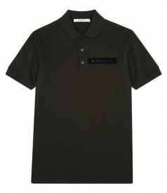 SHORT SLEEVE LOGO PLAQUED POLO