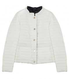 PADDED BUTTONED UP JACKET