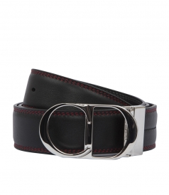 RED STITCHED BLACK BELT