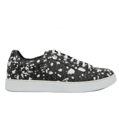 DARKLIGHT SPECKLE CANVAS SNEAKER