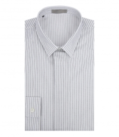 PURE COTTON STITCHED SHIRT