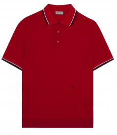 SALES - SHORT SLEEVE PIQUE POLO FT RIBBED EDGE