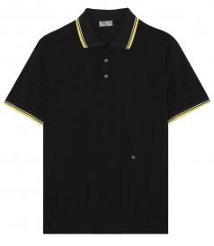 SHORT SLEEVE PIQUE POLO FT RIBBED EDGE