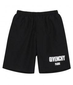 GIVENCHY LOGO PRINTED SWIMMING SHORTS