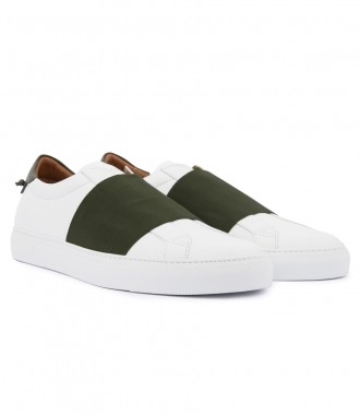 URBAN STREET SKATE LOW TOP SNEAKER WITH ELASTIC BAND