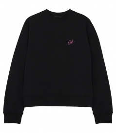 GIRLS EMBROIDERY PURE COTTON LONG SLEEVE SWEATSHIRT
