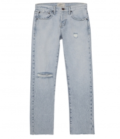 THE CROSSOVER STRAIGHT LEG JEAN