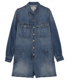 CURRENT/ ELLIOTT - THE JAMIE FRONT BUTTON PLACKET SHORTALL
