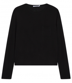 CLASSIC CROPPED LONG SLEEVE PULLOVER