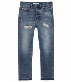 CLOTHES - GOLDEN HAPPY DISTRESSED JEANS