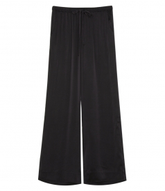 WIDE LEG PANTS WITH DRAWSTRING WAISTBAND