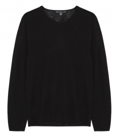 LONG SLEEVE CREWNECK KNITTED SWEATER