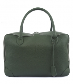 EQUIPAGE LEATHER HANDLE BAG