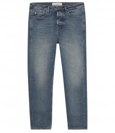 GOLDEN GOOSE  - LIGHT-WASHED GOLDEN HAPPY DENIM JEANS