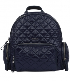 FLORE ZAINO QUILTED TEXTURED BACKPACK