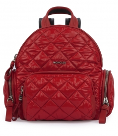 BAGS - FLORINE ZAINO QUILTED TEXTURED BACKPACK