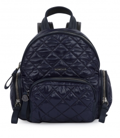 FLORINE ZAINO QUILTED TEXTURED BACKPACK