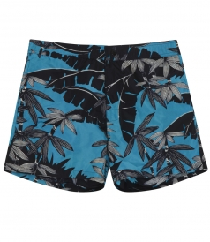 PALM PRINTED SWIM BOXER