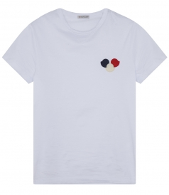 SIGNATURE TRICOLOUR CHEST PATCH T-SHIRT