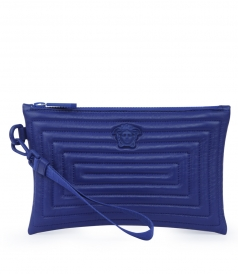 MEDUSA LABYRINTH CLUTCH BAG WITH WRIST STRAP