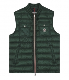 ACHILLE ICONIC GILET WITH DOUBLE FRONT POCKET