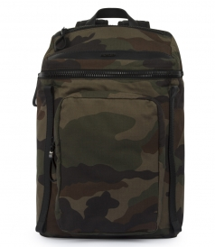 YANNICK CAMOUFLAGE PRINTED BACKPACK