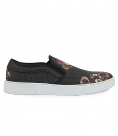 DARKLIGHT VANITE CANVAS SLIP-ON