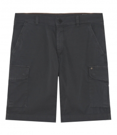 CLOTHES - TWO LATERAL FLAT POCKET CARGO BERMUDA