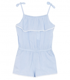 JAMIE CHAMBRAY PLAYSUIT