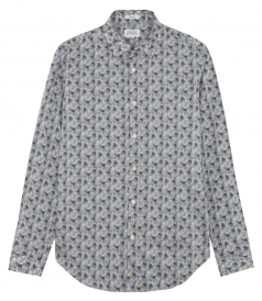 SAMMY FLORAL PRINTED LONG SLEEVE SHIRT