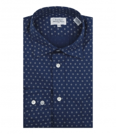 PURE COTTON PAUL SHIRT WITH ALL OVER PRINT