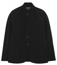 BUTTONED UP FRONT CLOSURE WITH HIGH NECK BLAZER