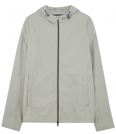 ALL FRONT ZIP CLOSURE HOODED JACKET