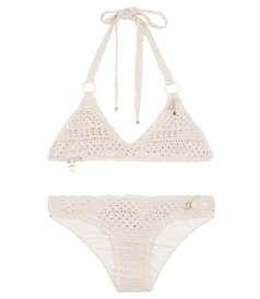 CLOTHES - LINED CROCHET BIKINI SET FT PRETTY CHARMS