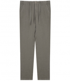 TROY LINEN PANTS WITH WAISTBAND