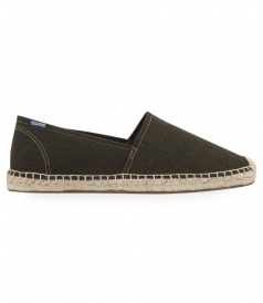 SHOES - SOLID ORIGINAL KHAKI DALI SLIP ON ESPADRILLE